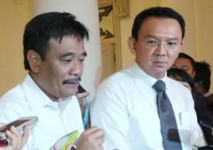 """...Pasangan Cagub dan Cawagub DKI Jakarta, Ahok - Djarot...."""