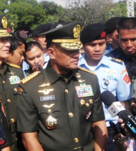 """...Panglima TNI, Gatot Nurmantyo...."" Photo By : Red.NRMnews.com"