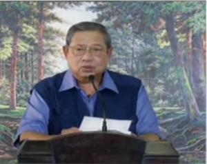 """....Ketua Umum Partai Demokrat, Soesilo Bambang Yudhoyono...."" Photo By : Red.NRMnews.com"
