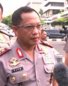 """...Kapolri, Jenderal Tito Karnavian..."""