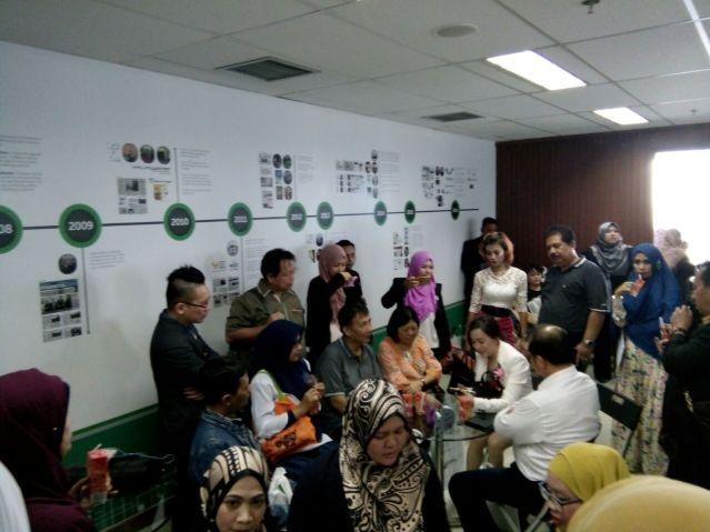 """...Suasana Pendampingan Agensi di Kantor AJ Indonesia, Mega Kuningan...""Photo By : Red NRMnews.com"