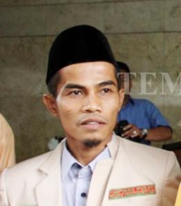 """...Pedri Kasman, Sekretaris PP Pemuda Muhammadiyah..."""