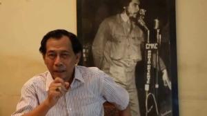 """""""...Sri Bintang Pamungkas, Salah Satu Aktivis Yang Ditahan Dengan Tuduhan Terlibat Makar..."""" Photo By : youtube.com"""