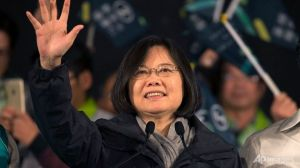 """...Presiden Taiwan, Tsai Ing Wen..."""