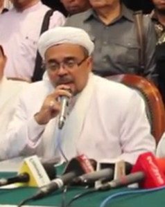 """...Imam Besar FPI, Habib Rizieq Shihab..."" Photo By : Red.NRMnews.com"