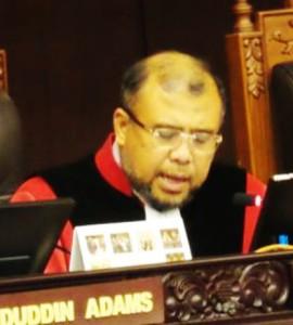 """...Mantan Hakim Konstitusi, Patrialis Akbar..."""