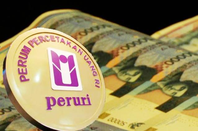"""""""...Logo Perusahaan Umum Percetakan Uang Republik Indonesia (Perum Peruri)..."""""""