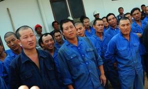 """""""...Ilustrasi pekerja asing ilegal asal Cina di Indonesia..."""""""