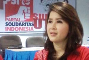 """...Ketum Partai Solidaritas Indonesia (PSI), Grace Natalie..."""