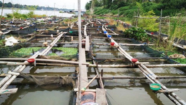 """...Keramba Budidaya Ikan..."" Photo By : Red.NRMnews.com"
